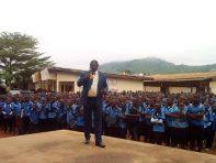 Sensibilisation au lycée de Tsinga